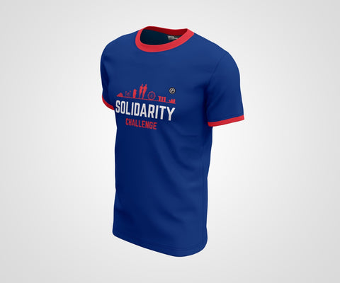 Majulah Run Solidarity Challenge Race Tee Side