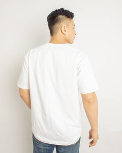Japanese Heavyweight 230gsm Pocket T-shirt Unisex (White)