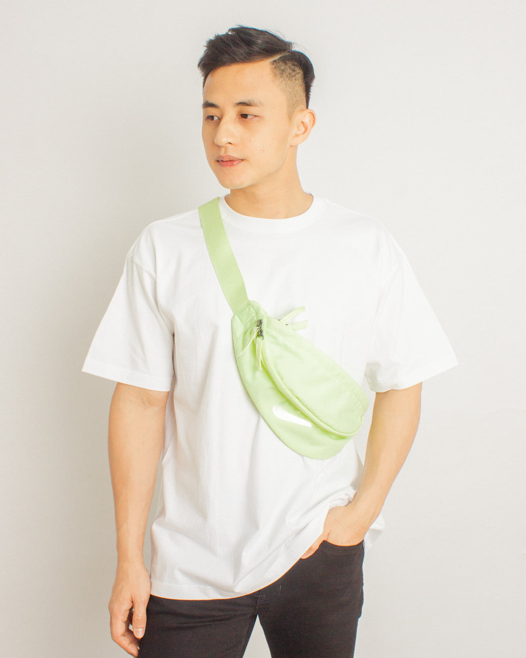 Japanese Heavyweight Oversized T-shirt (White)