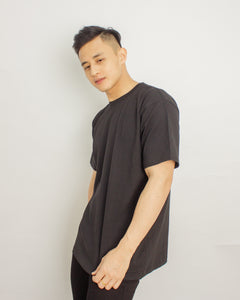 Japanese Heavyweight Oversized T-shirt Unisex (Black)