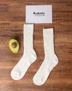 Heavyweight Plain White Quarter Sock
