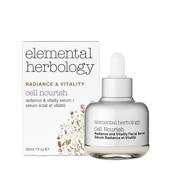 Cell Nourish Radiance & Vitality Serum - Elemental Herbology, 30ml