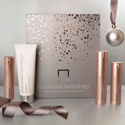 Metal Longevity Skin Care Gift Set