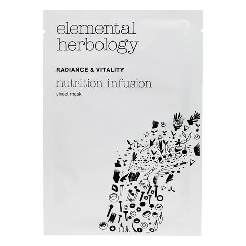 Nutrition Infusion Individual Sheet Mask- Elemental Herbology