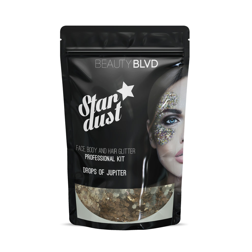 Drops of Jupiter - Stardust Face, Body and Hair Glitter PRO Kit | Beauty BLVD