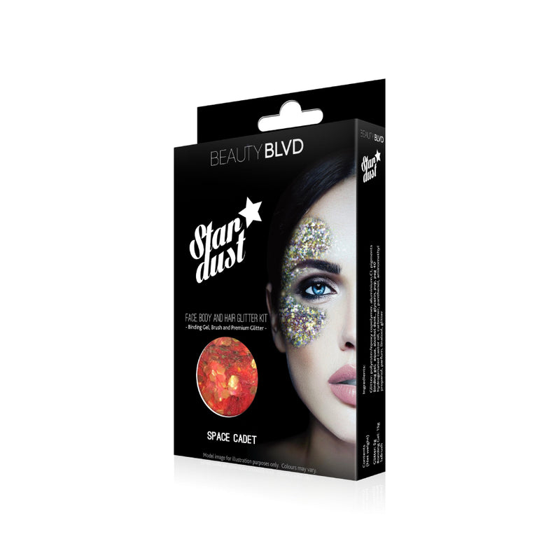 Space Cadet - Stardust Face, Body and Hair Glitter Kit
