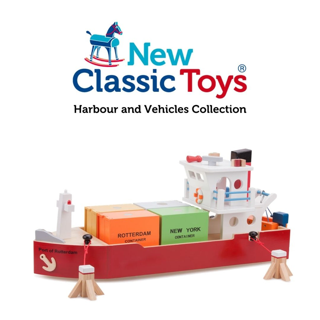 New Classic Toys - Harbour and Vehicles