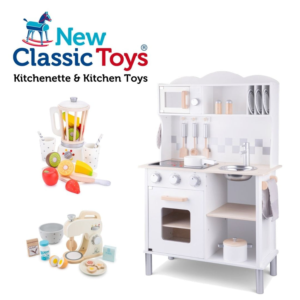 New Classic Toys - Kitchenette and Kitchen Toys