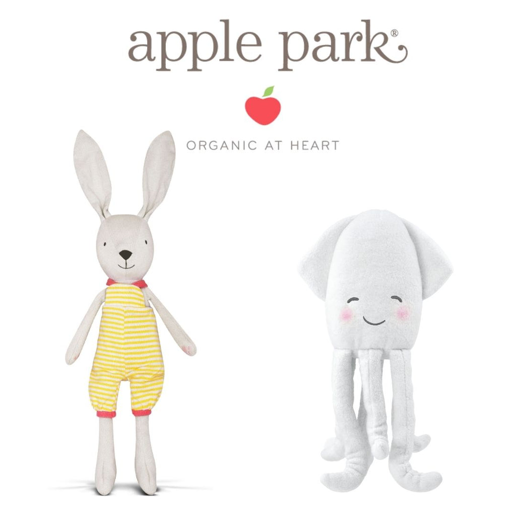 Apple Park  - Organic Cotton Hypoallergenic Plush Toys