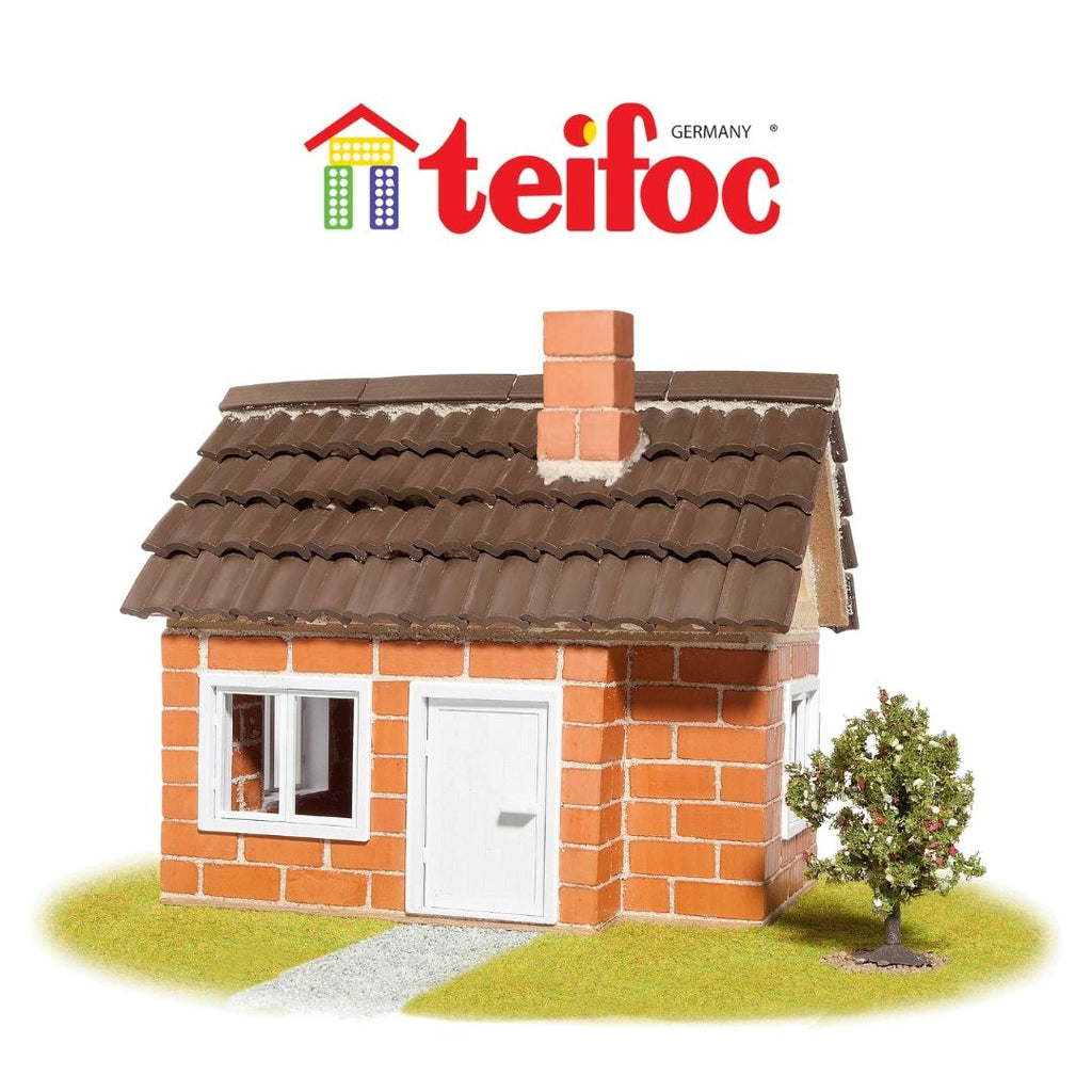 Teifoc - Building with Real Bricks and Mortar