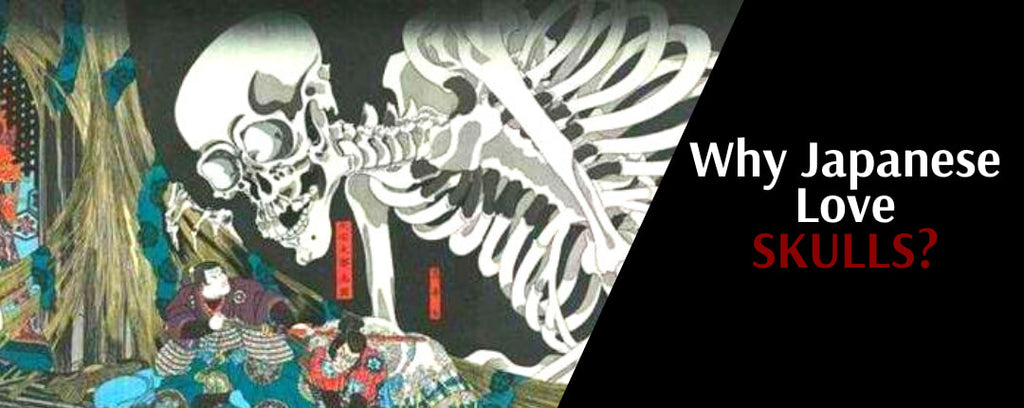 Why do Japanese people loved skeletons?