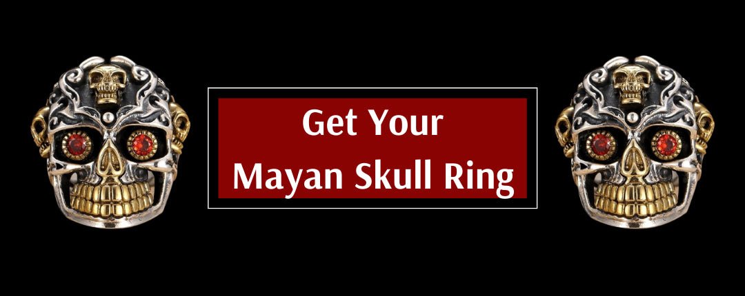 Mayan Spirit Skull Ring Promotion