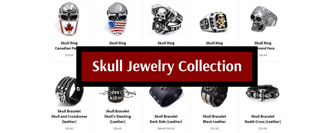 Skull Jewelry Collection