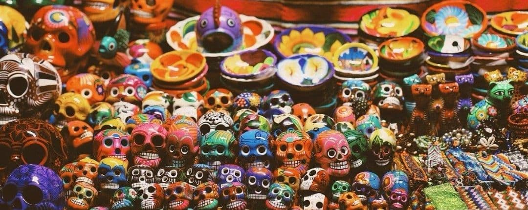 Mexican Sugar Skull in Mexico