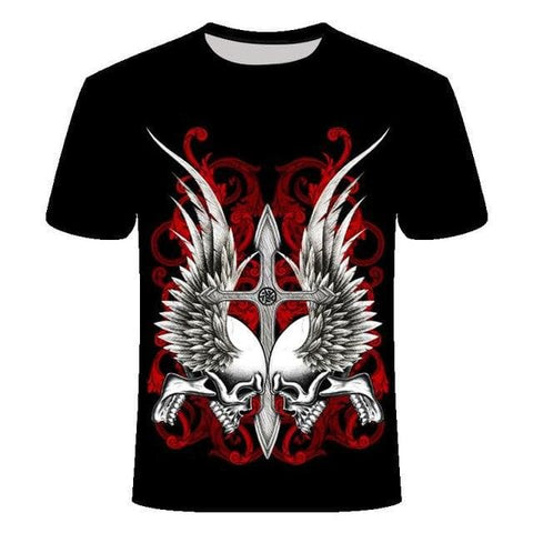 Angel Skull Shirt