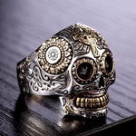 Day of the death Calavera Ring