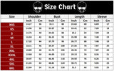 Size Chart Flame of Hell