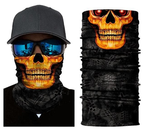 Skull Daddy Face Mask