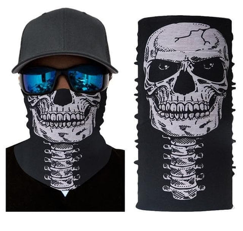 Skull Face Neck Mask