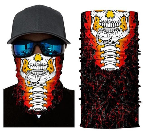 Skull Fishing Mask