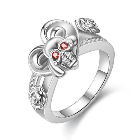 Skull Ring <br/> Pure Gothic Engagement