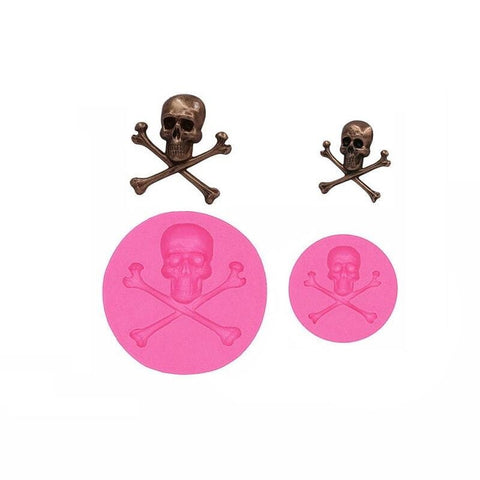 Skull and Crossbones Mold