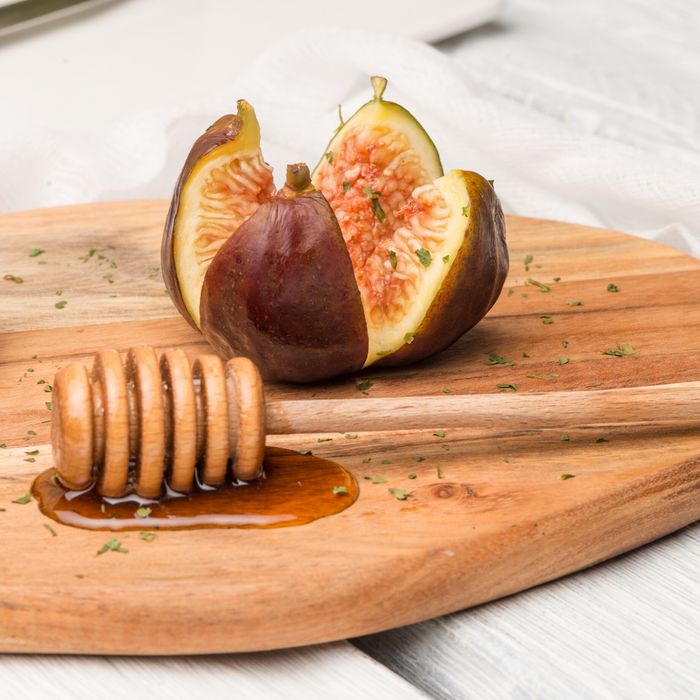 Figs with Wine and Honey