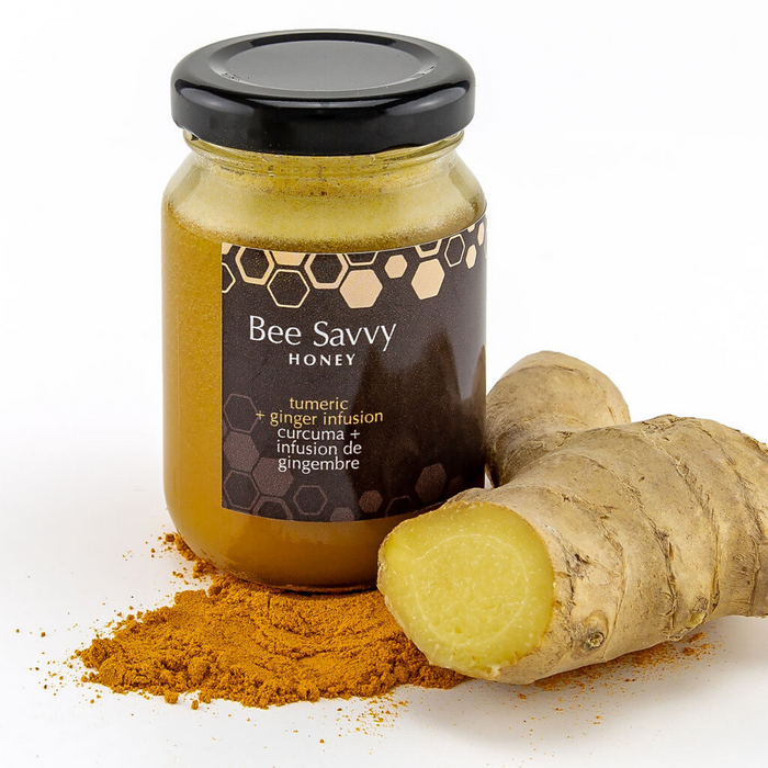 Turmeric and Ginger Infused Honey - Mini