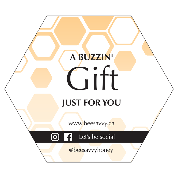 Bee Savvy Honey Gift Card