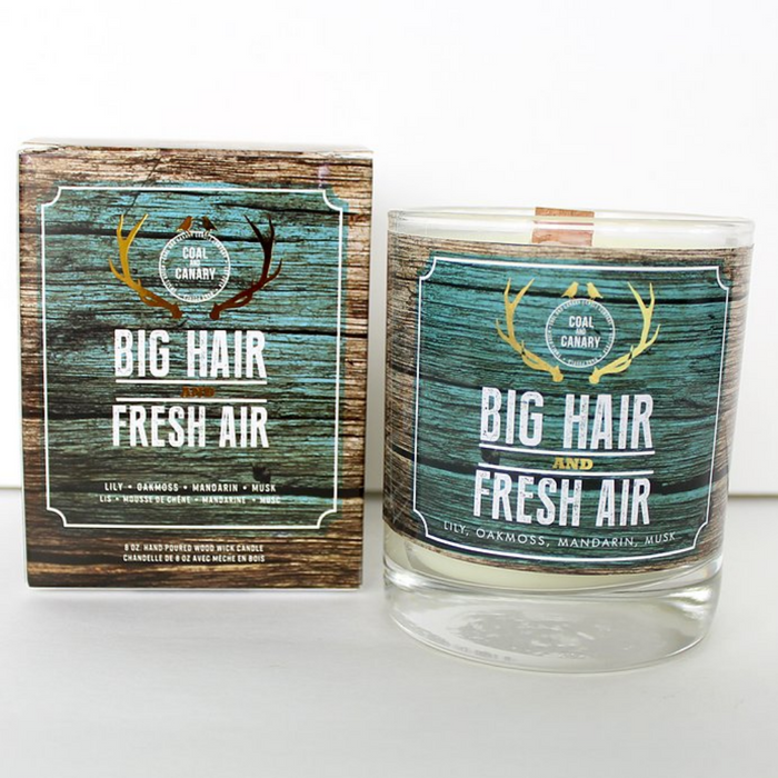 Big Hair & Fresh Air by Coal and Canary