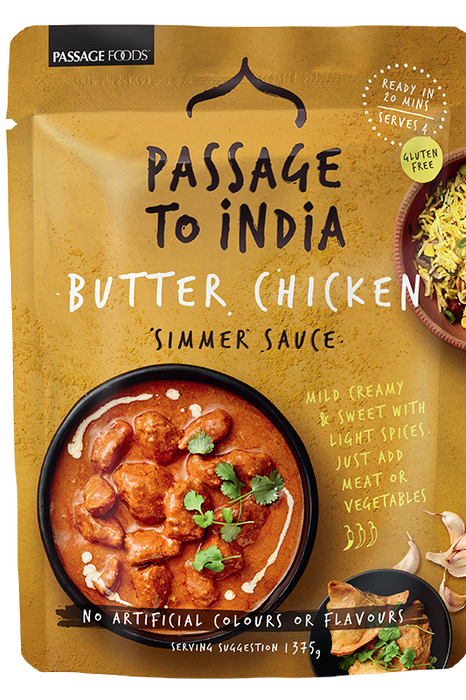 Butter Chicken Simmer Sauce by Passage Foods