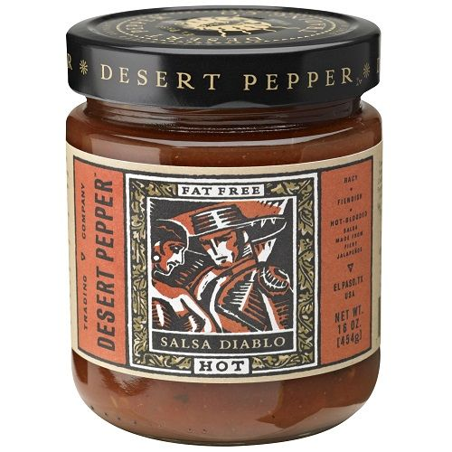 Diablo Hot Salsa by Desert Pepper Salsa