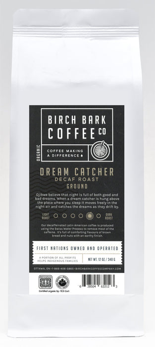 Dream Catcher Swiss Water Process (Decaf. Blend)-Medium/Dark Roast by Birch Bark Coffee