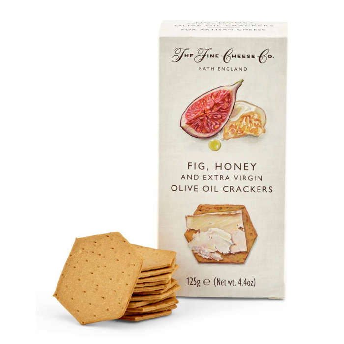 Fig, Honey & Extra Virgin Olive Oil Crackers by Fine Cheese Co.