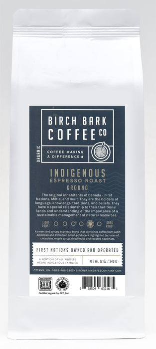 Indigenous Espresso-Medium/Dark Roast by Birch Bark Coffee