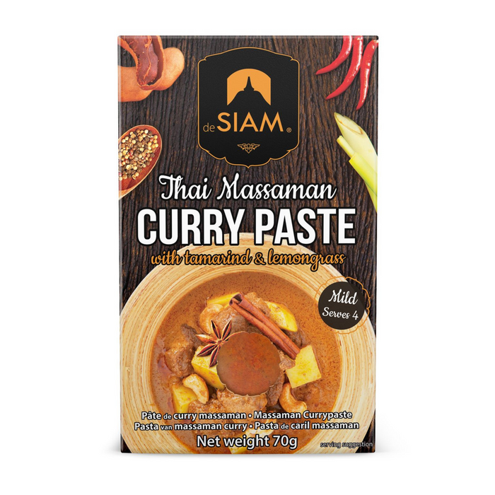 Massaman Curry Paste by DeSiam