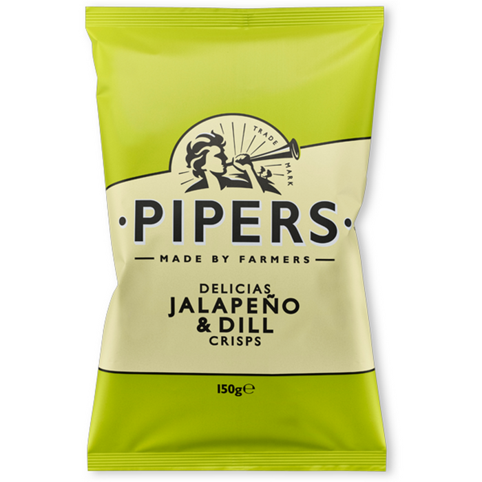 Jalapeno & Dill by Pipers Crisps