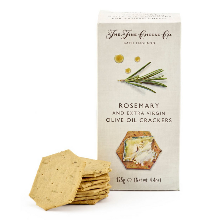 Rosemary & Extra Virgin Olive Oil Crackers by Fine Cheese Co.