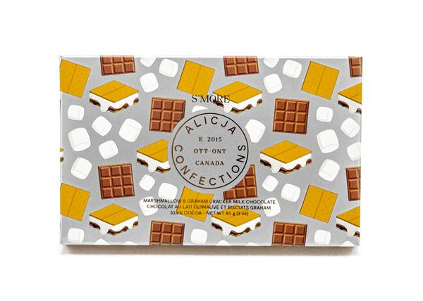 S'more Postcard Chocolate by Alicja Confections