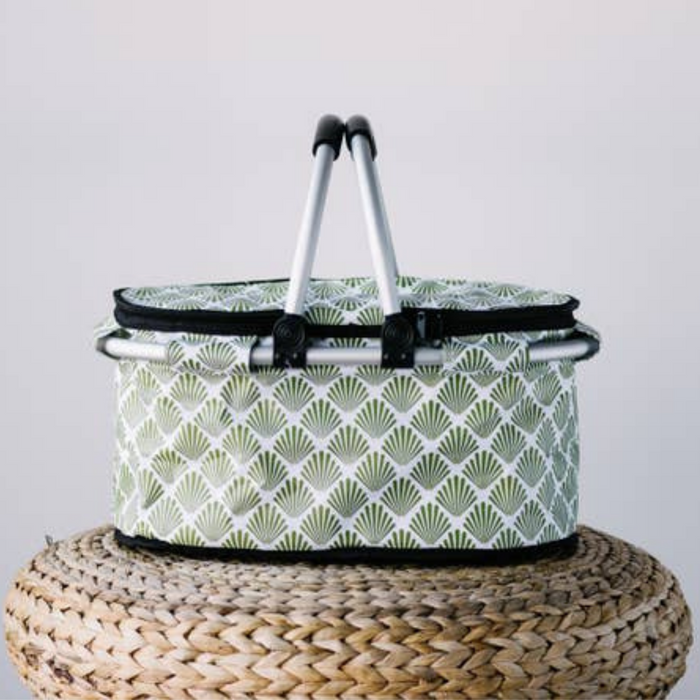 Green Petal Cooler Bag