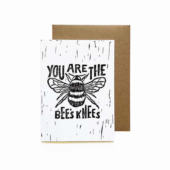 You Are the Bee's Knees Card by Whitney Luu