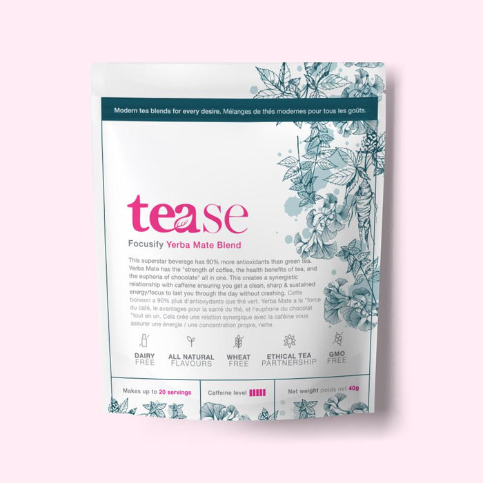 Focusify Yerba Mate by Tease Tea