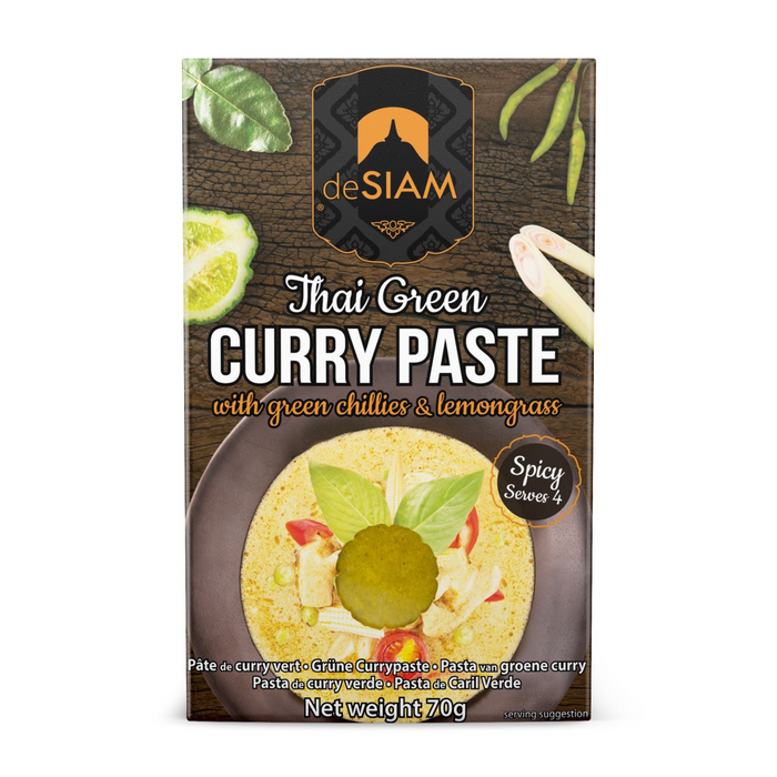 Green Curry Paste by DeSiam