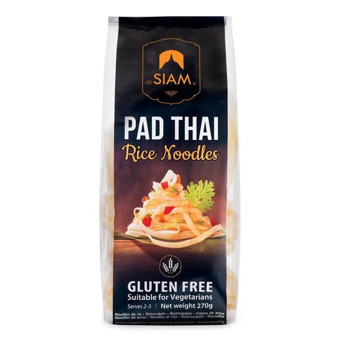 Pad Thai Rice Noodles by DeSiam