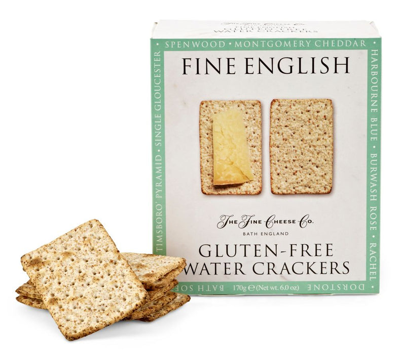 Gluten-Free Water Crackers by Fine Cheese Co