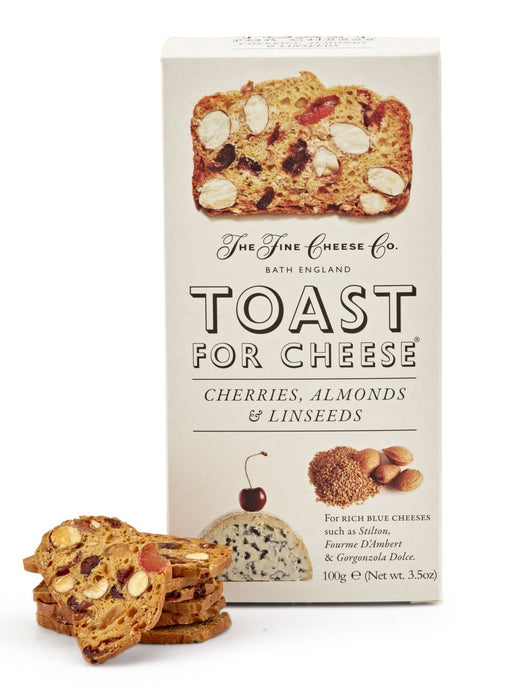 Cherry Almond Toast for Cheese by Fine Cheese Co.