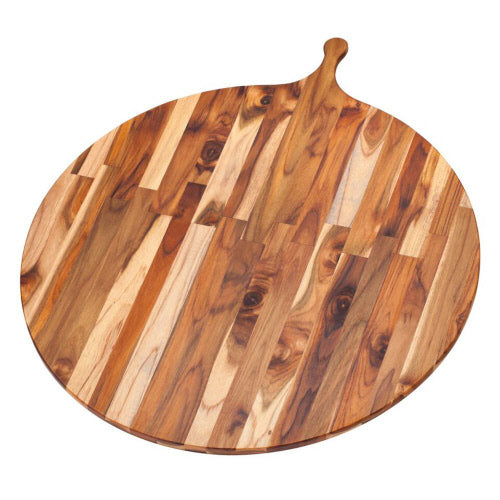 "32.5"" x 28"" Round Serving Board by TeakHaus"