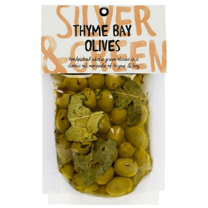 Thyme Bay Green Olives