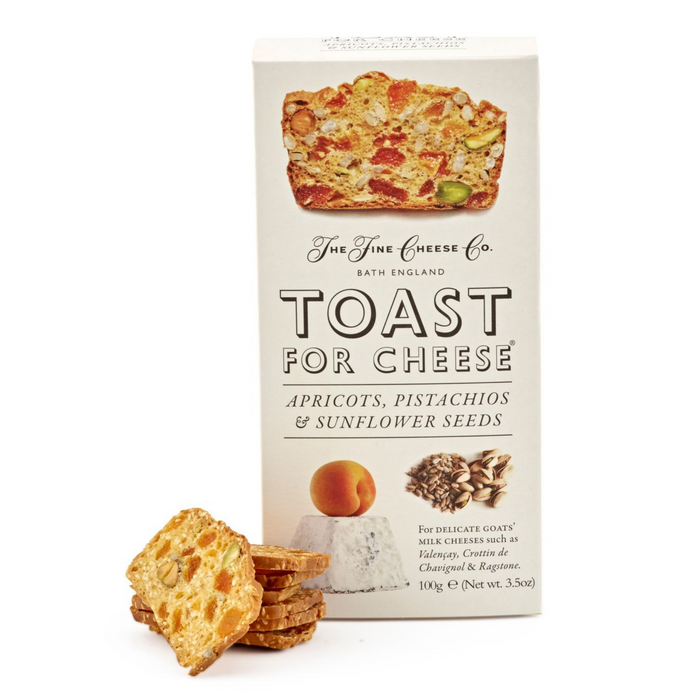 Apricot Pistachio Toast for Cheese by Fine Cheese Co.