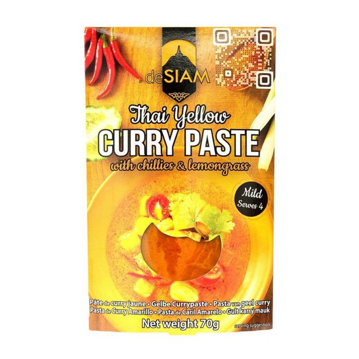 Yellow Curry Paste by DeSiam